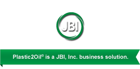 Plastic2Oil® is a JBI, Inc. business solution.
